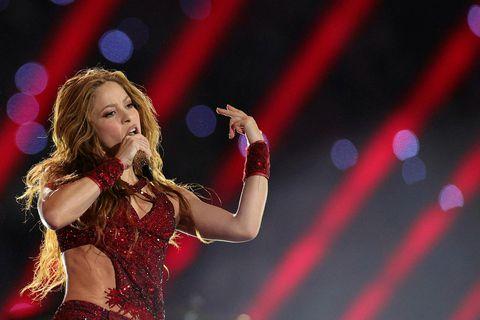 Shakira æfði vel og borðaði hollt fyrir Ofurskálina.