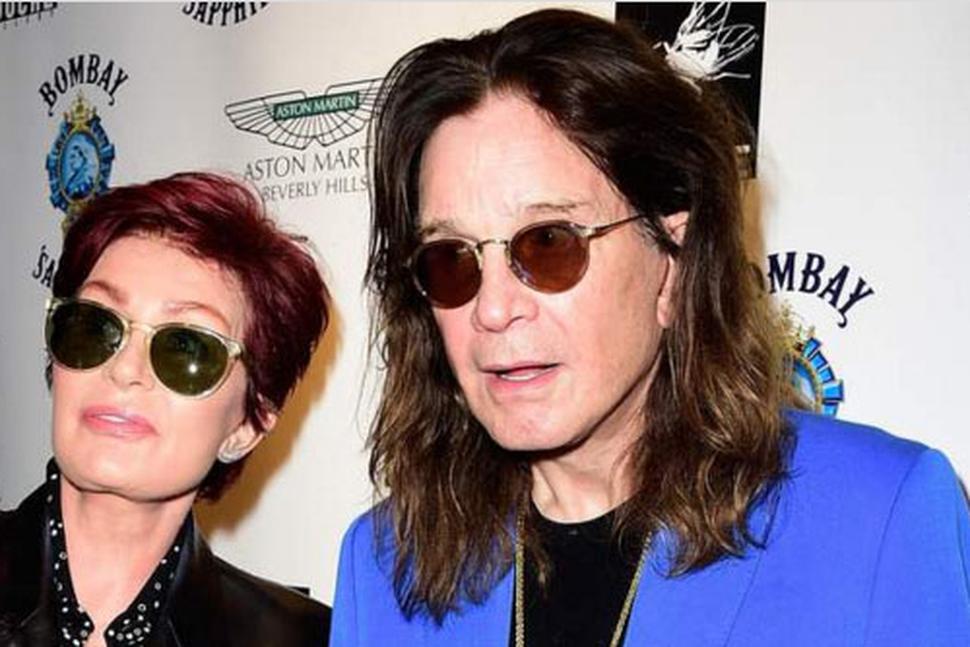 Sharon og Ozzy Osbourne.