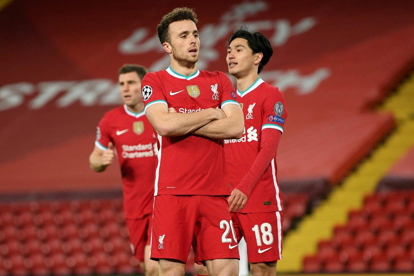 Diogo Jota hefur farið vel af stað með Liverpool.