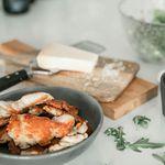 Kjúklingur í basil-parmesansósu