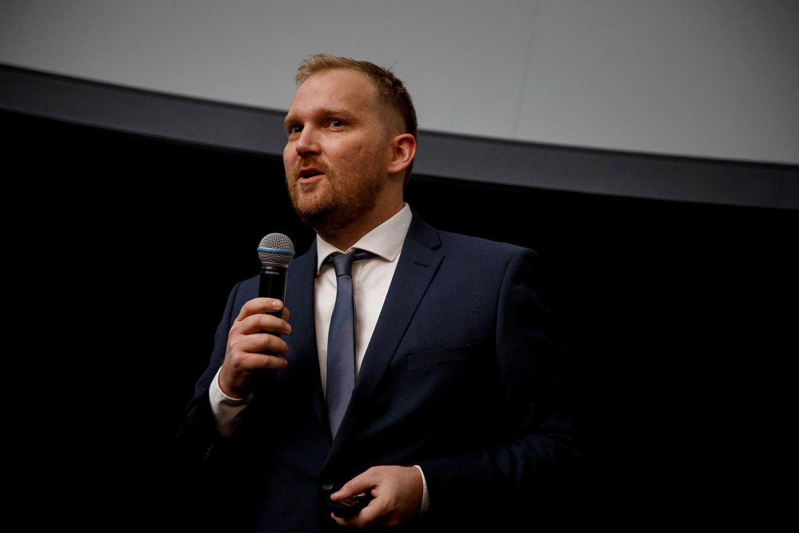 Arnar Már Magnússon forstjóri Play.
