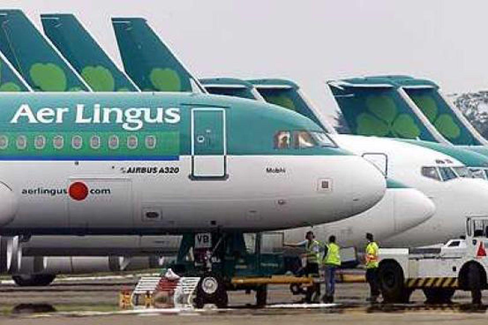 Flugmaður hjá Aer Lingus stakk upp á því að gefa …