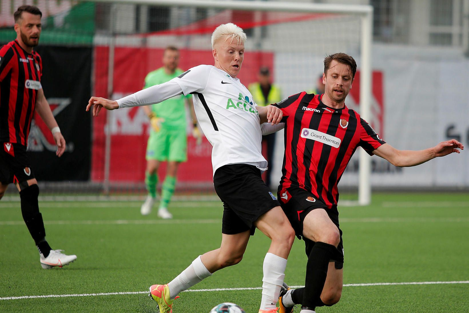 Daníel Hafsteinsson kom FH-ingum á bragðið.