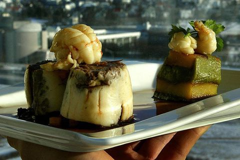 Grillið does perhaps not have a Michelin Star, but it has one of the best view of any restaurant in Reykjavik.