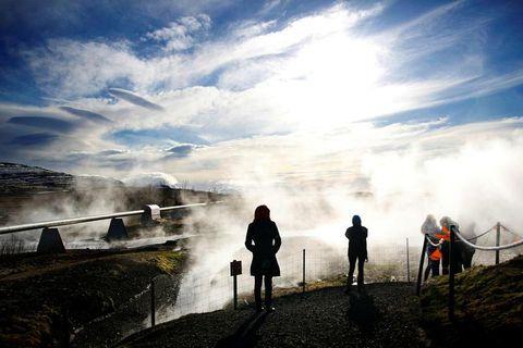 Deildartunguhver is Europe's most powerful hot spring