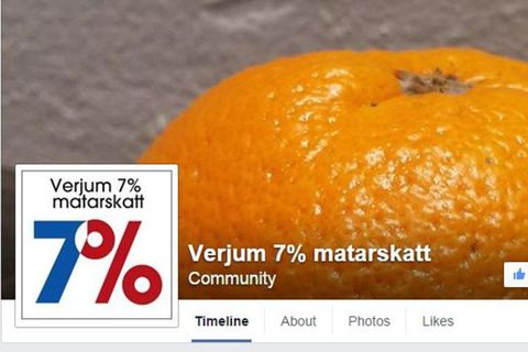 Bryndís stofnaði Facebook-hópinn Verjum 7% matarskatt.