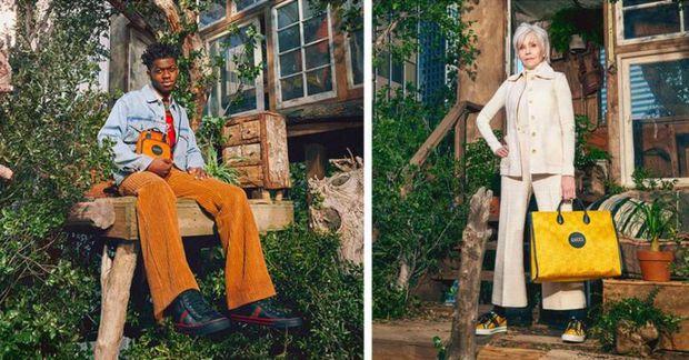 Lil Nas X, Jane Fonda, David de Rothschild og King Princess tóku þátt í herferð …