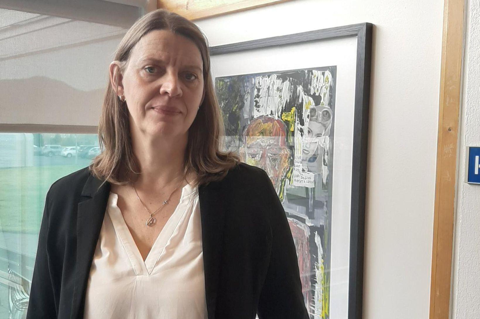 Magdalena Ásgeirsdóttir, læknir og formaður læknaráðs á Reykjalundi.