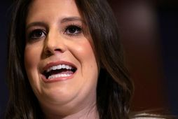 Elise Stefanik hefur tekið við stöðunni sem áður var í höndum Elizabeth Cheney.