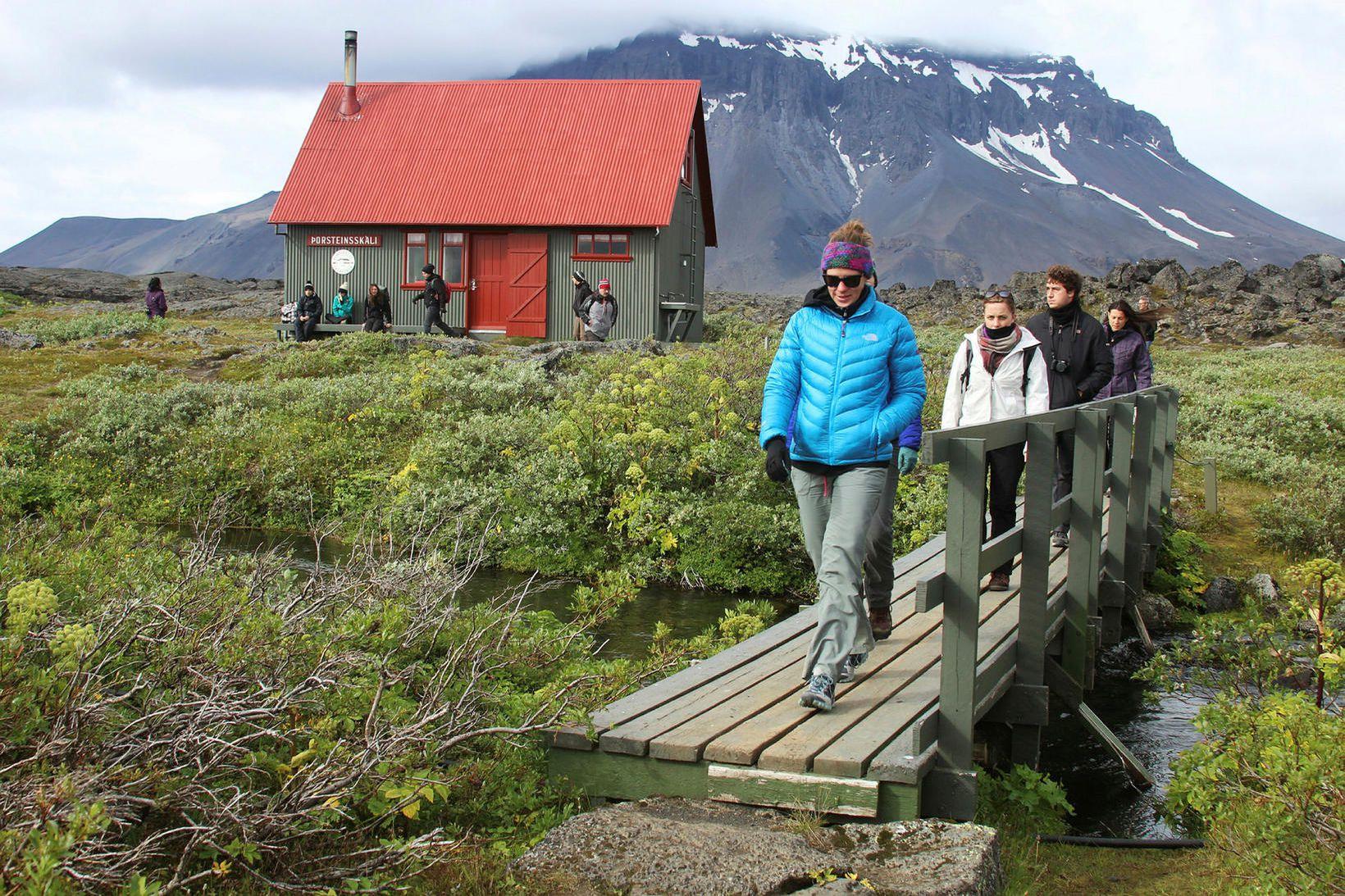 Í Vatnajökulsþjóðgarði.