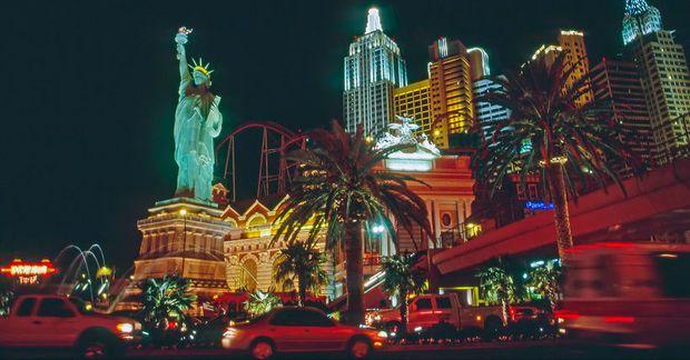 Það er gott að djamma í Las Vegas.