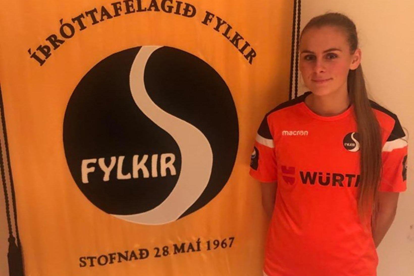María Eva Eyjólfsdóttir er orðin leikmaður Fylkis.