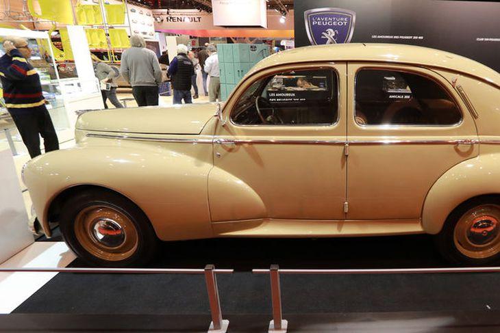 Peugeot 203 Berline from 1950.