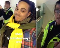 Ryan Carney Williams otherwise known as Ryan Hawaii wore eight pairs of trousers and 10 shirts to avoid luggage fees.