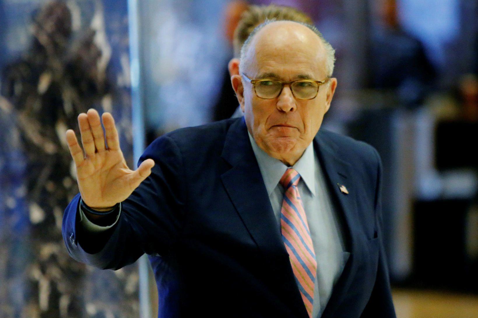 Rudy Giuliani, lögmaður Donalds Trump Bandaríkjaforseta.