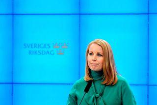 Annie Lööf, formaður Miðflokksins.