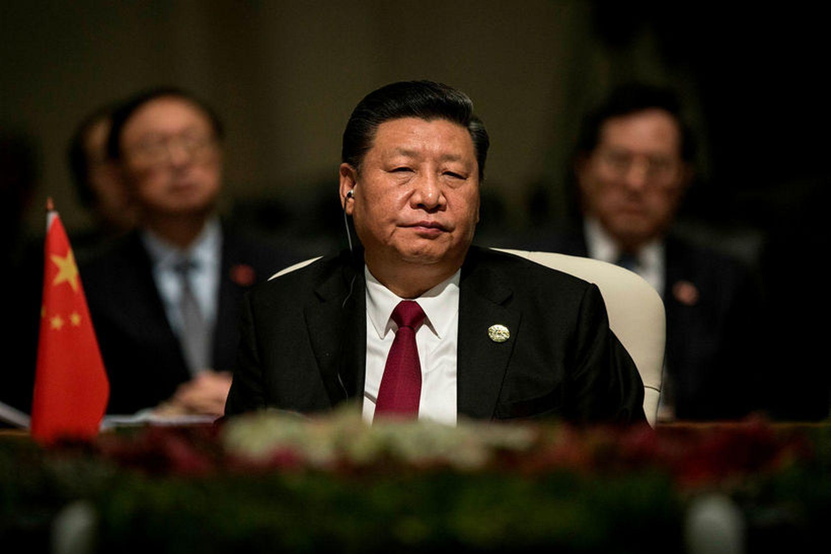 Xi Jinping, forseti Kína, hefur varið heljartak stjórnvalda á lýðnetinu. …