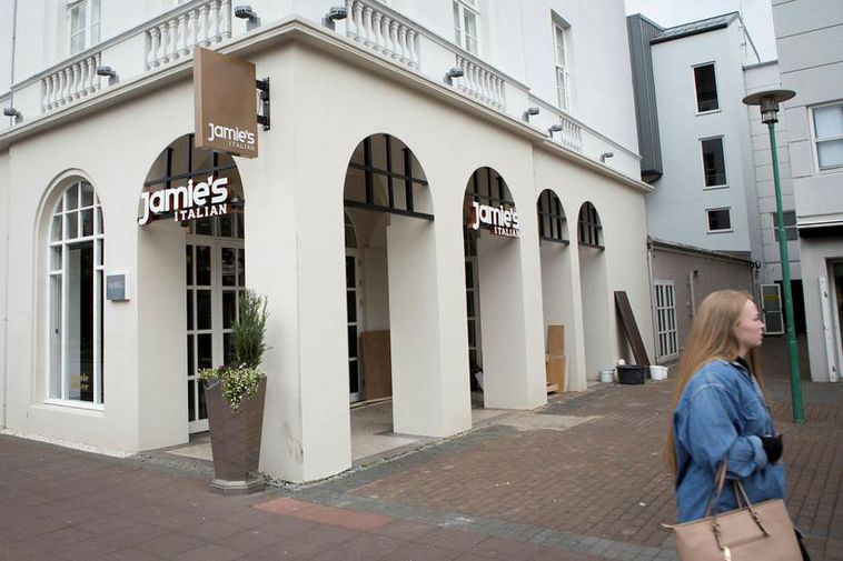 Jamie's Italian has opened its doors.