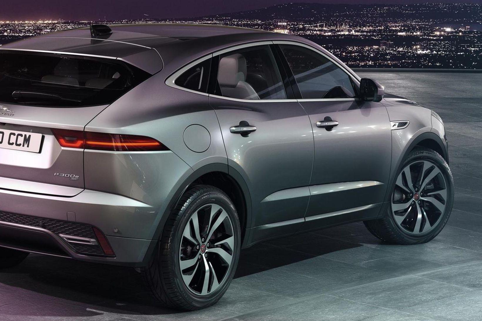 Jaguar E-Pace tengiltvinnbíllinn.