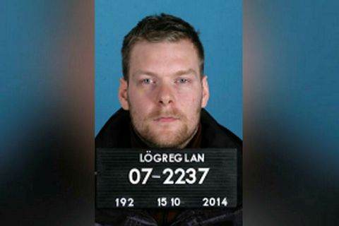 Sindri Þor Stefánsson was arrested in Amsterdam yesterday.