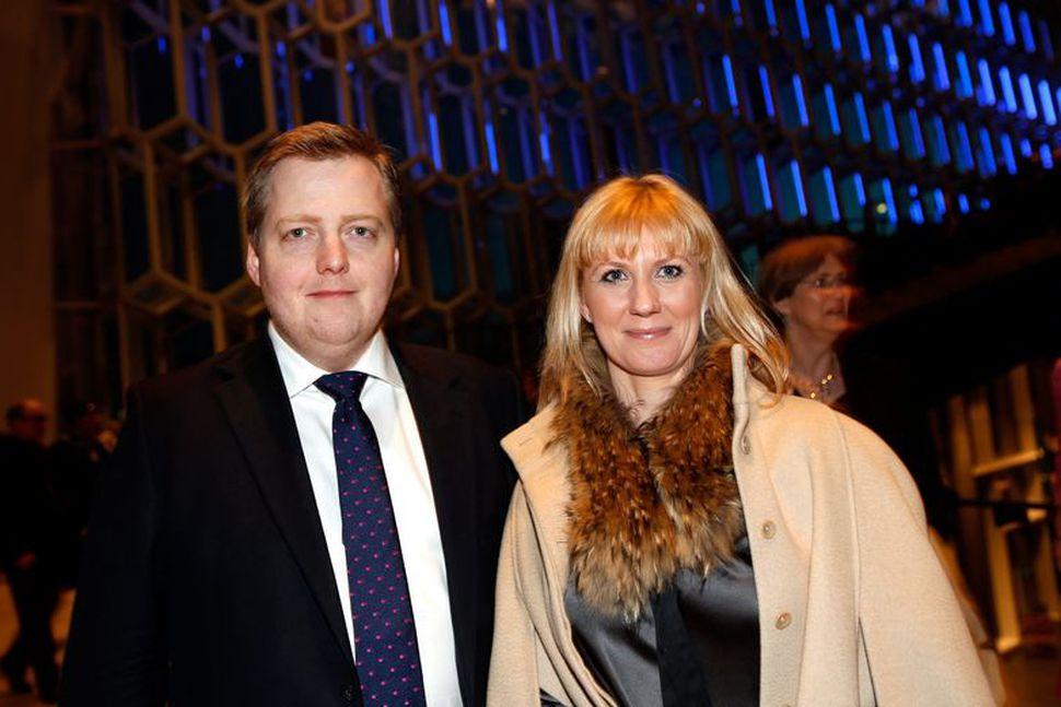 Sigmundur Davíð Gunnlaugsson og Anna Sigurlaug Pálsdóttir