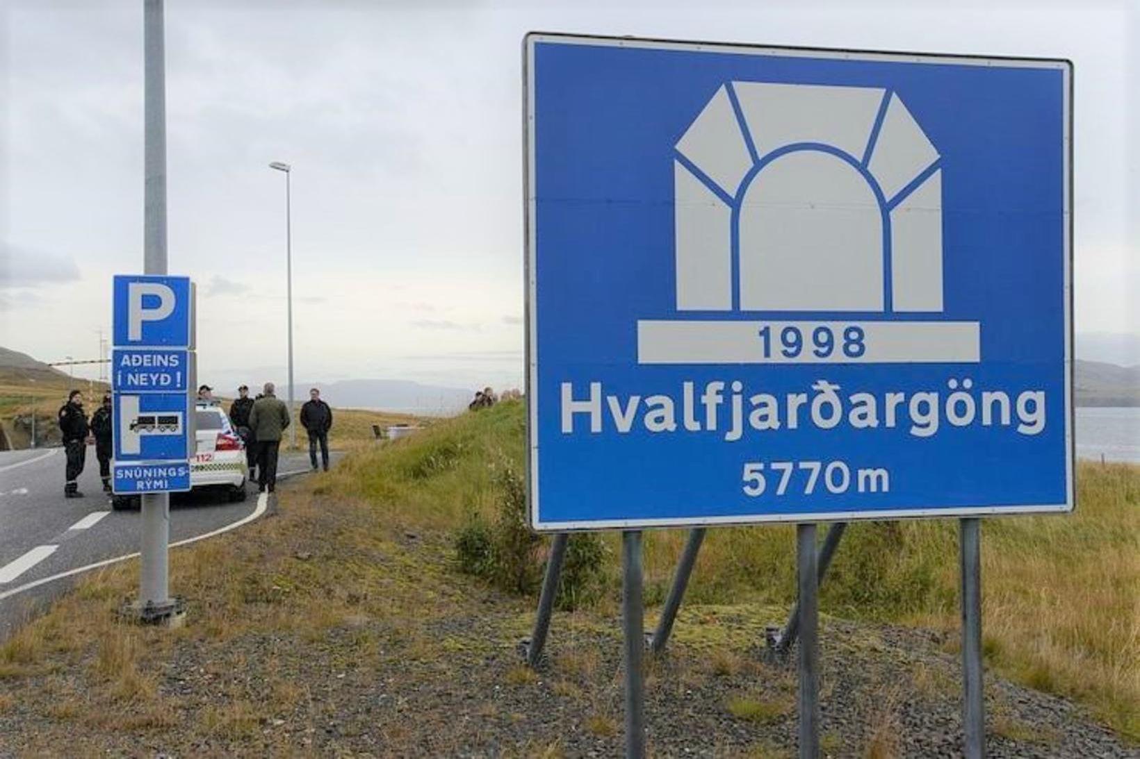 Hvalfjarðargöng.