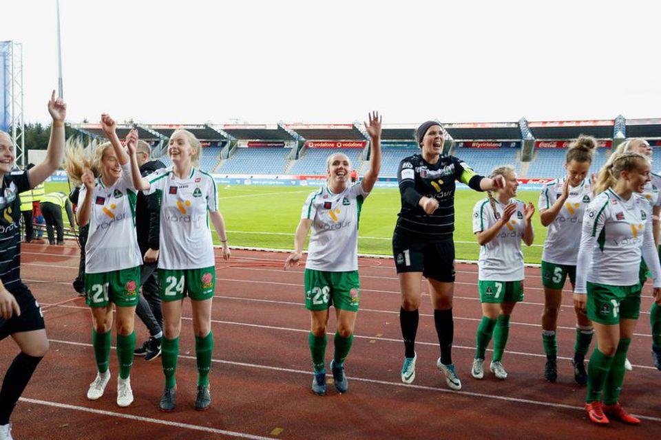 Breiðablik er bikarmeistari árið 2018.