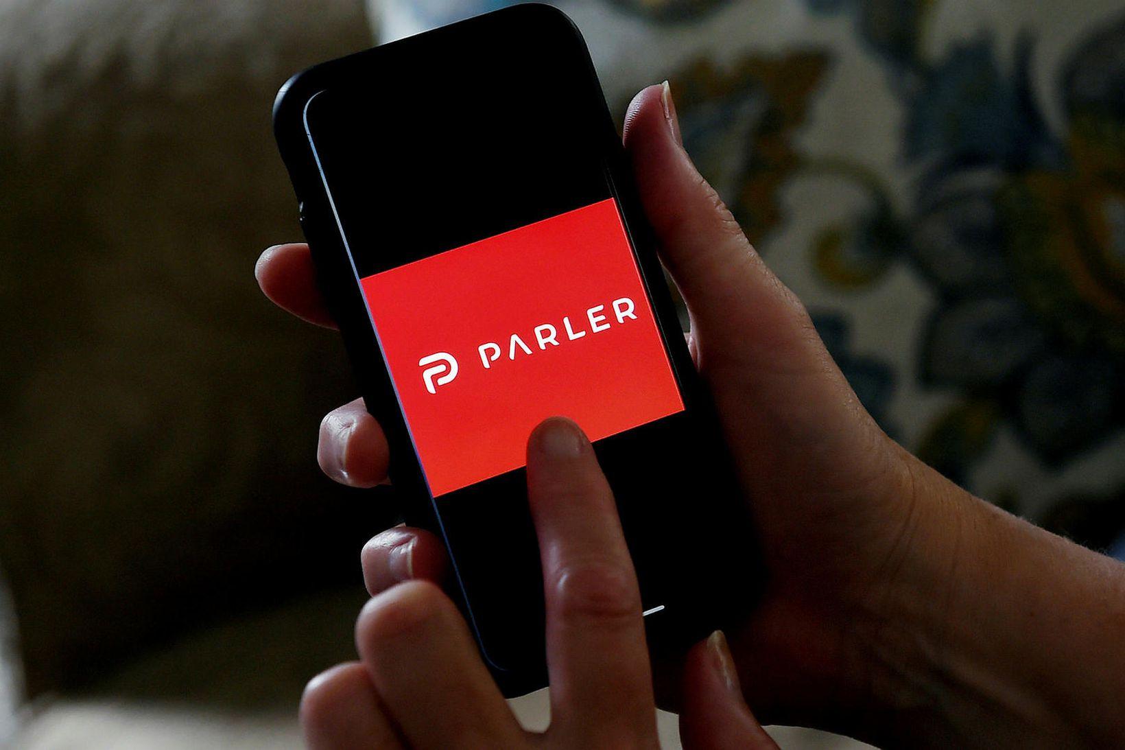 Parler appið hefur verið fjarlægt úr Google Play Store.