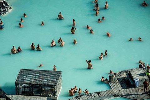 From the Blue Lagoon.