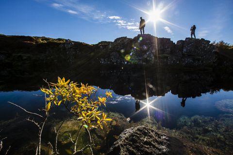 Autumn equinox in Iceland.