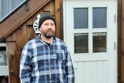 Baldur Eiðsson, hrossaræktandi í Landeyjum.