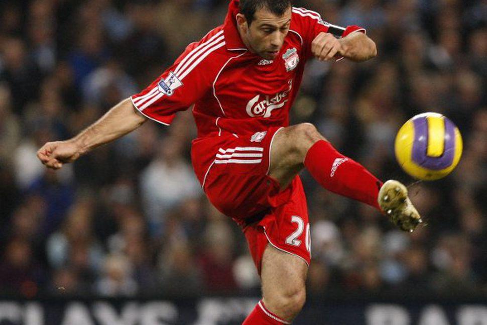 Javier Mascherano í leik með Liverpool á leiktíðinni.