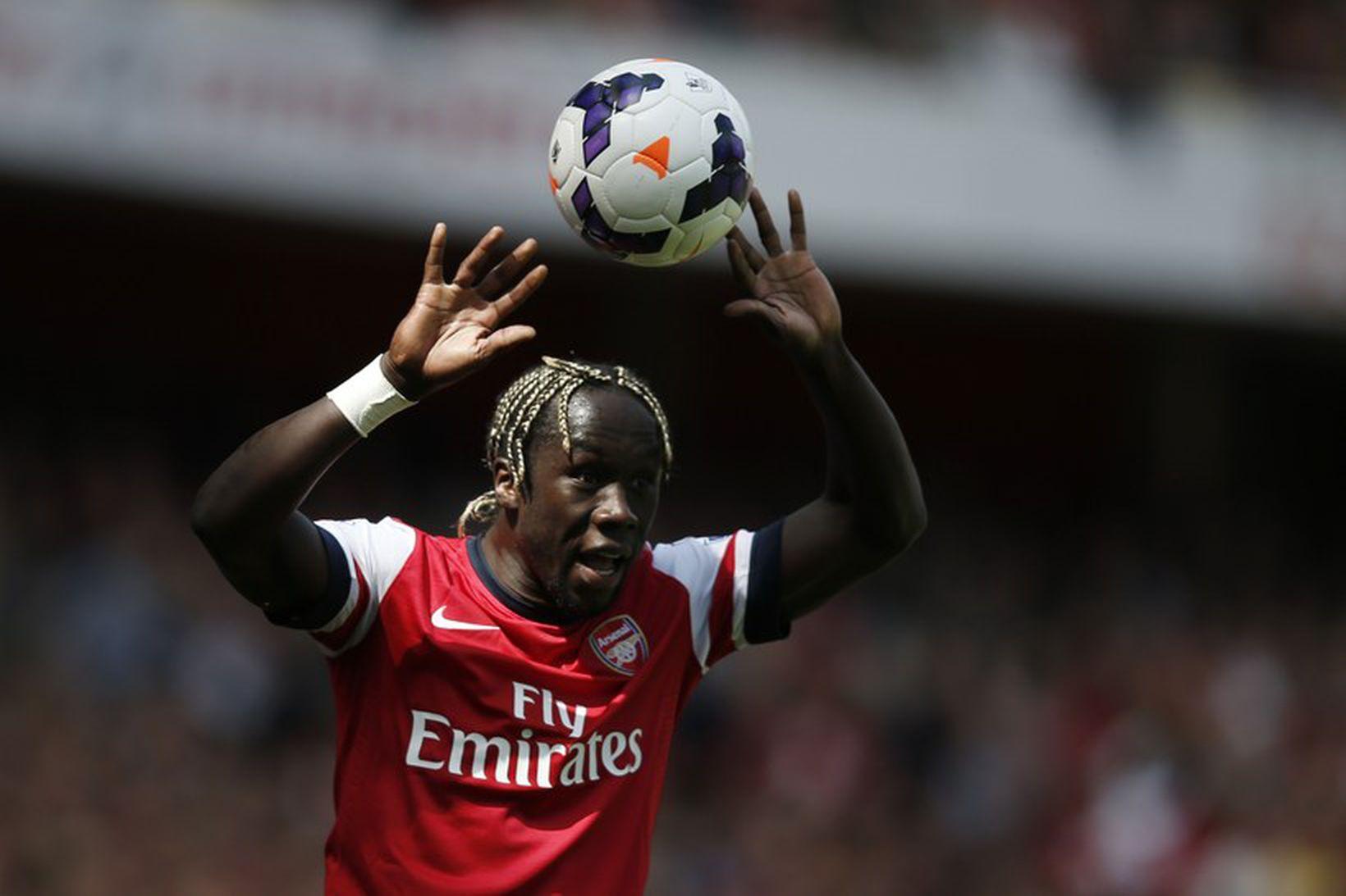 Bacary Sagna í leik með Arsenal.
