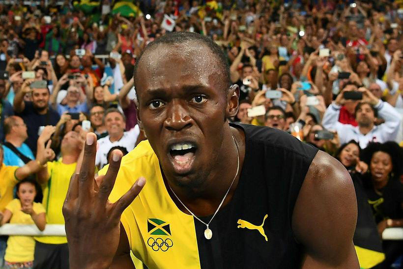 Usain Bolt á þrjú börn