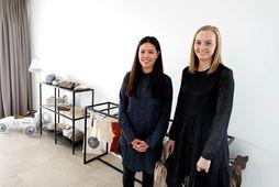 Ásdís Alexandra Lee og Sunneva Reynisdóttir opnuðu barnafataverslunina Minimar kids í ágúst.