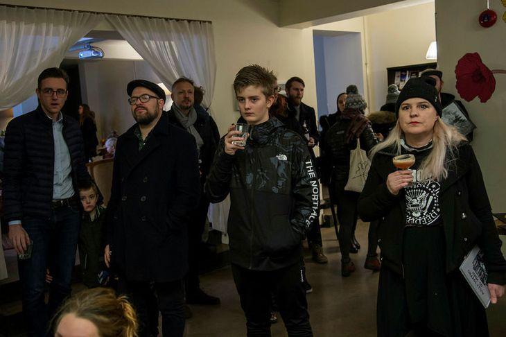 Stefán Ari Stefánsson, Páll Guðmundsson, Stefán Magni Stefánsson og Ragnheiður Axel.