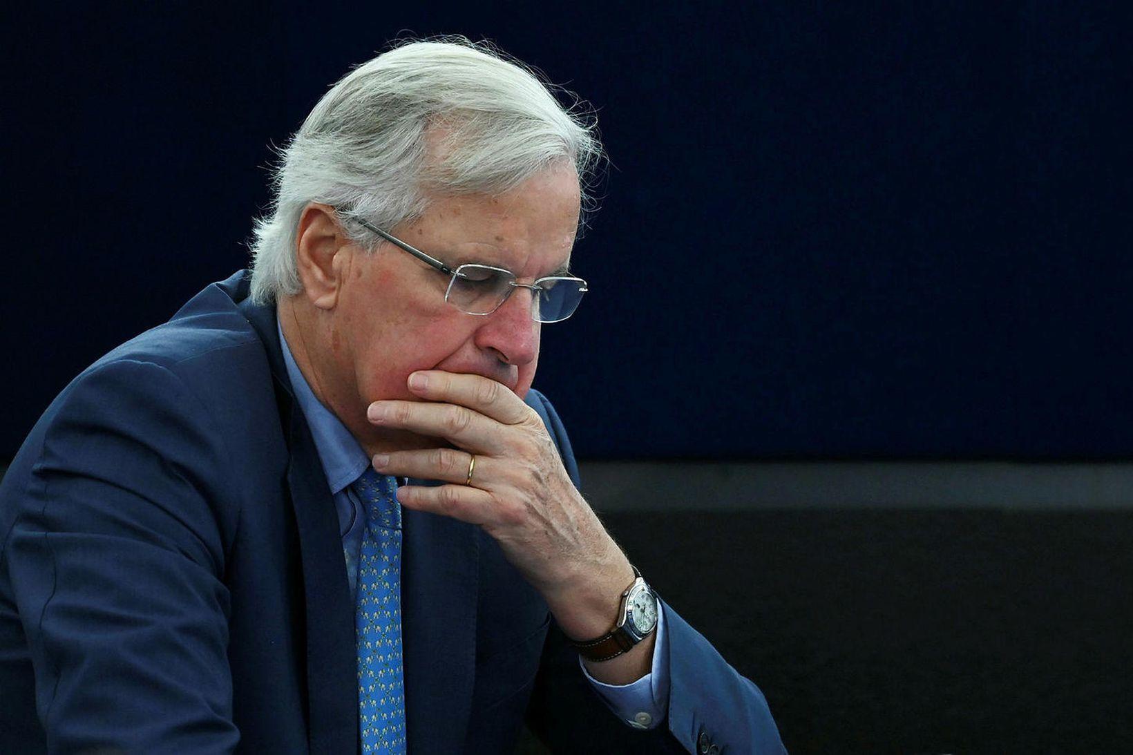 Michel Barnier, aðalsamningamaður ESB.
