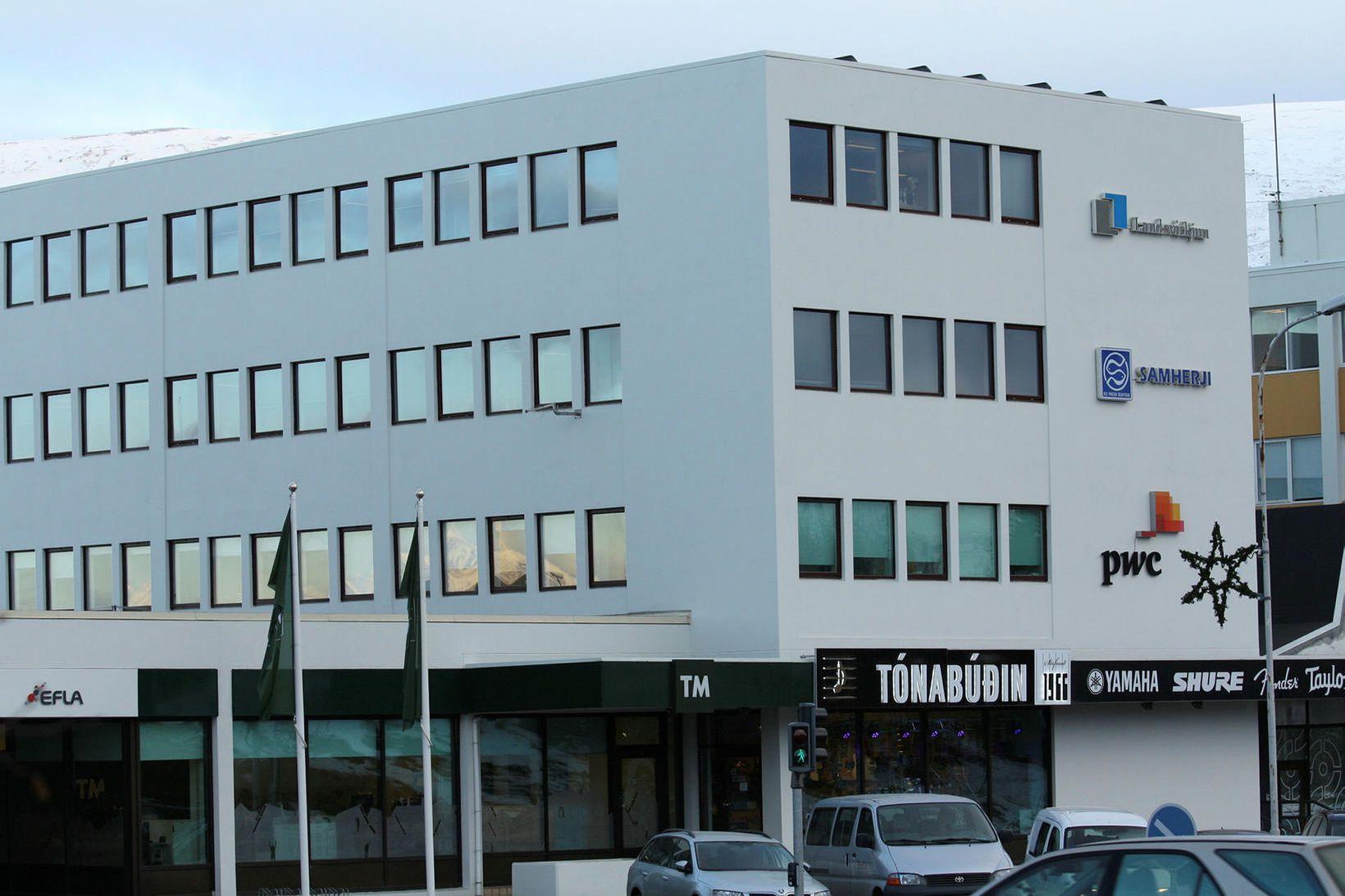 Höfuðstöðvar Samherja á Akureyri.