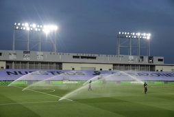 Líklegt er að kvennalið Real Madrid muni spila heimaleikina á þessum velli, Alfredo di Stefano …