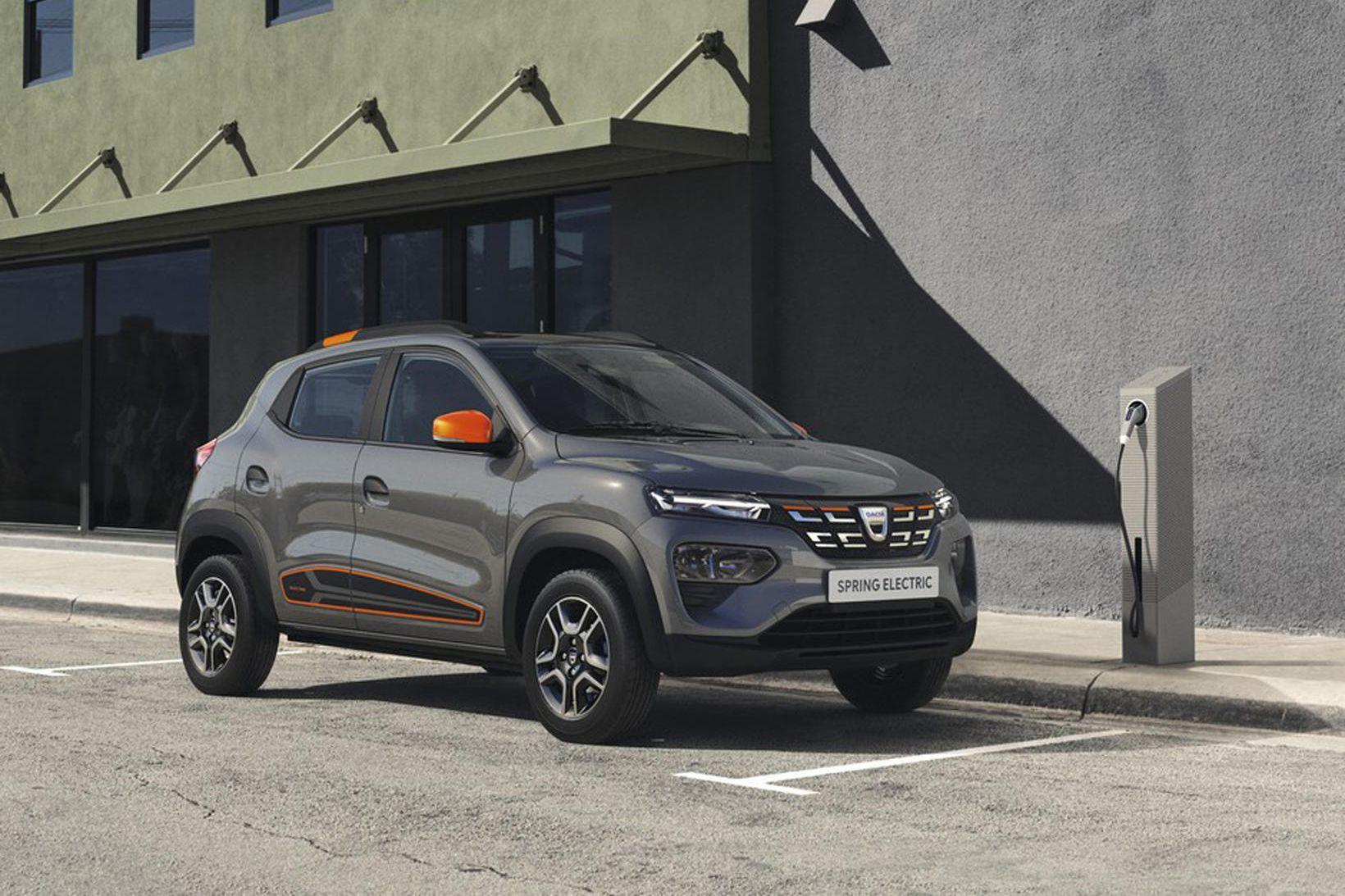 Rafbíllinn Dacia Spring kemur á götuna í Evrópu haustið 2021.