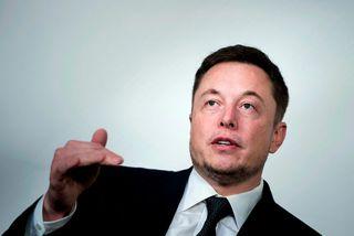 Elon Musk, forstjóri SpaceX og Tesla.