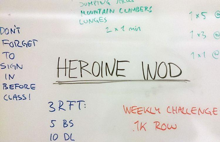 Heroine WOD - Listasýning