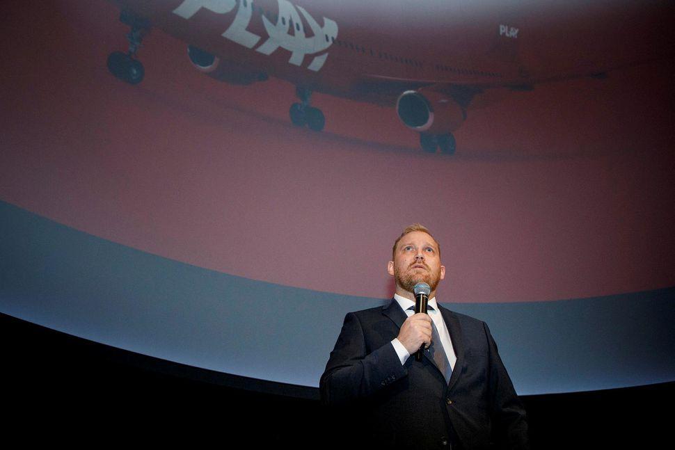 Arnar Már Magnússon, forstjóri Play, var gestur Kastljóss í kvöld.