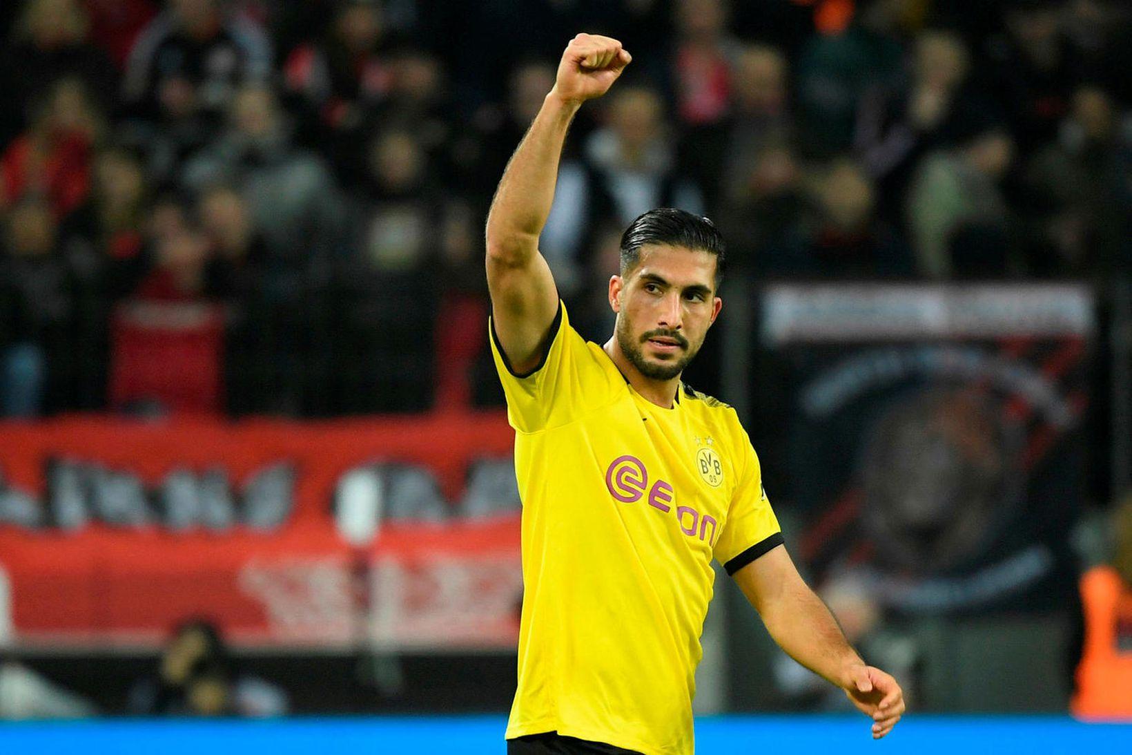 Emre Can er orðinn leikmaður Dortmund.