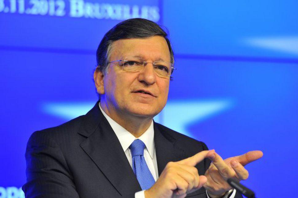 José Manuel Barroso, forseti framkvæmdastjórnar Evrópusambandsins.
