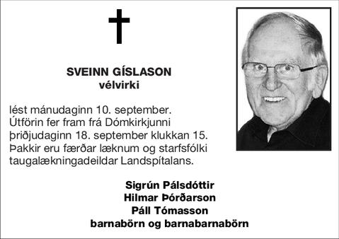 Sveinn Gíslason