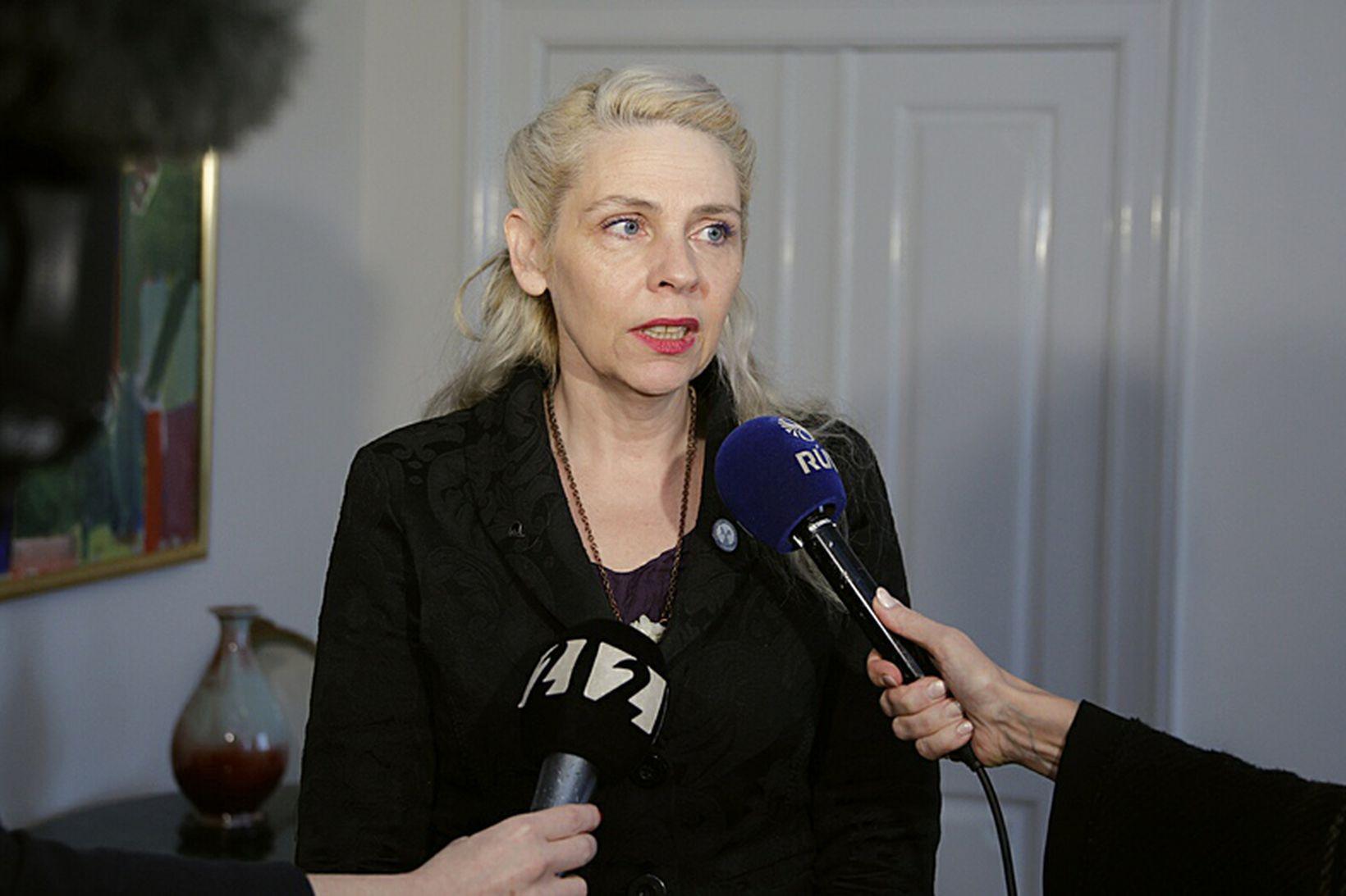 Birgitta Jónsdóttir þingflokksformaður Pírata.