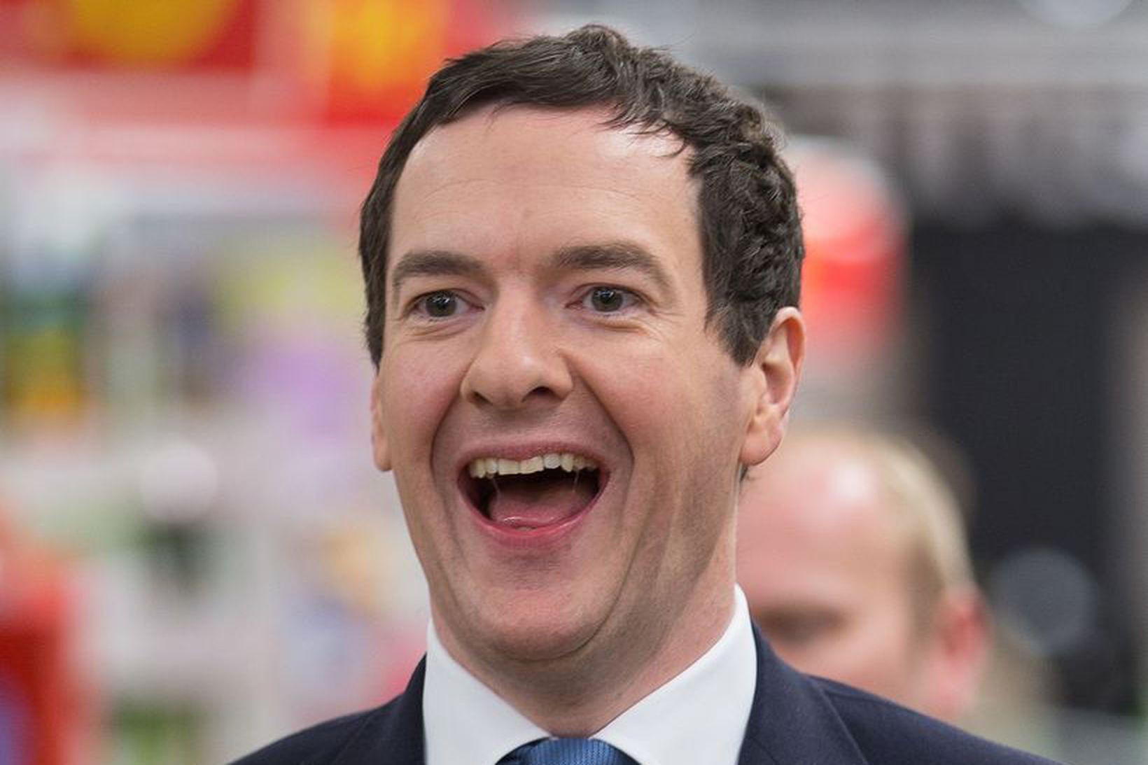 George Osborne, fyrrverandi fjármálaráðherra Bretlands.