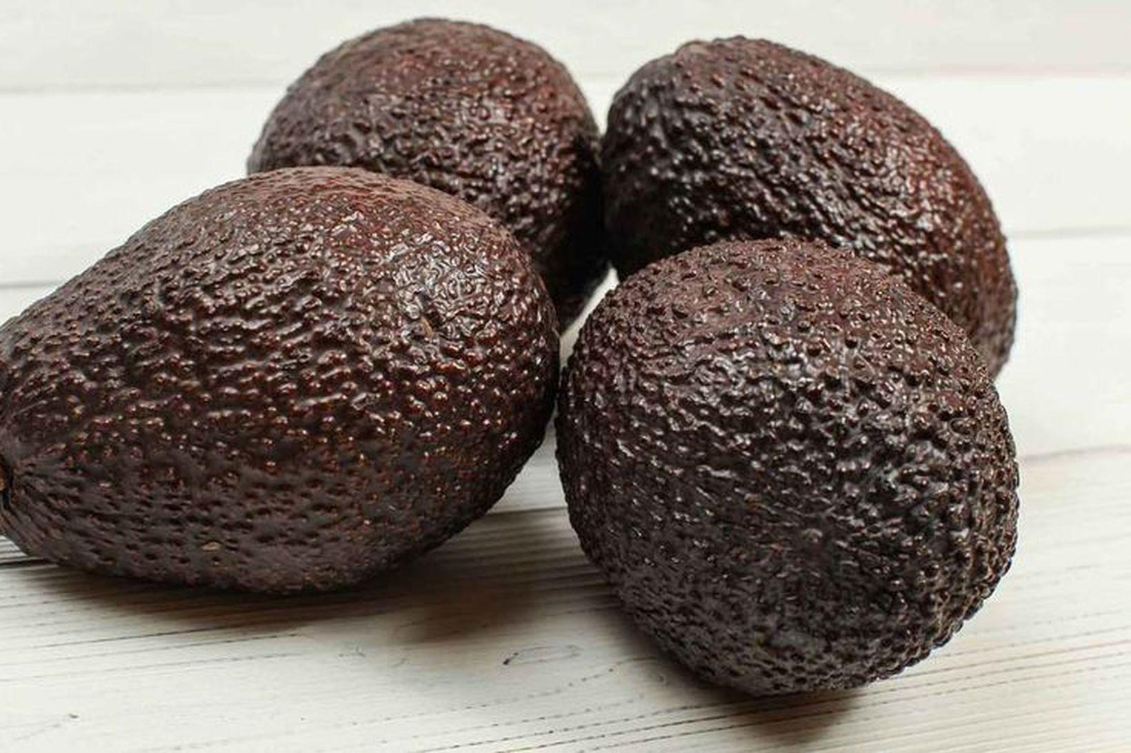 Við erum að skera avocado kolvitlaust.
