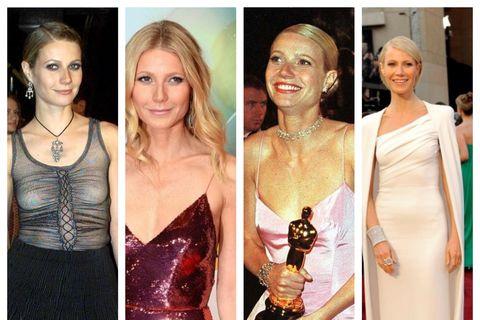 Gwyneth Paltrow hefur klæðst mörgum eftirminnilegum kjólum á ferli sínum í sviðsljósinu.